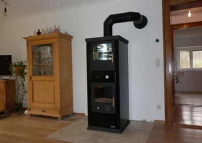 Rizzoli TS60SF Wasserführender Kaminofen mit Backrohr