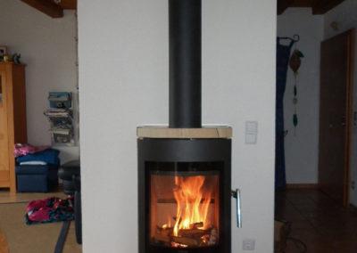 Morsø S50-45 Kaminofen mit Sandsteinverkleidung